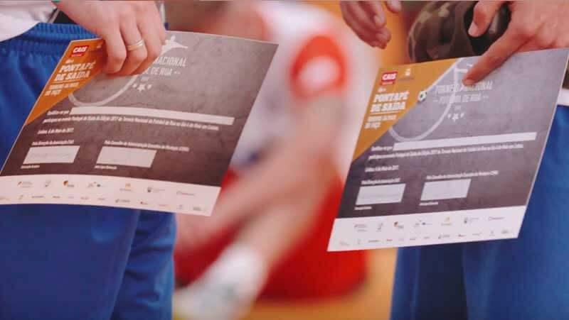 Torneio Nacional de Futebol de Rua: Montepio e CAIS